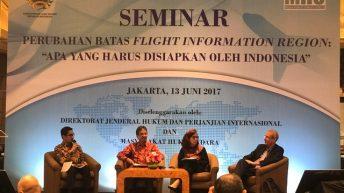 Seminar: Perubahan Batas Flight Information Region : Apa yang Harus Disiapkan oleh Indonesia